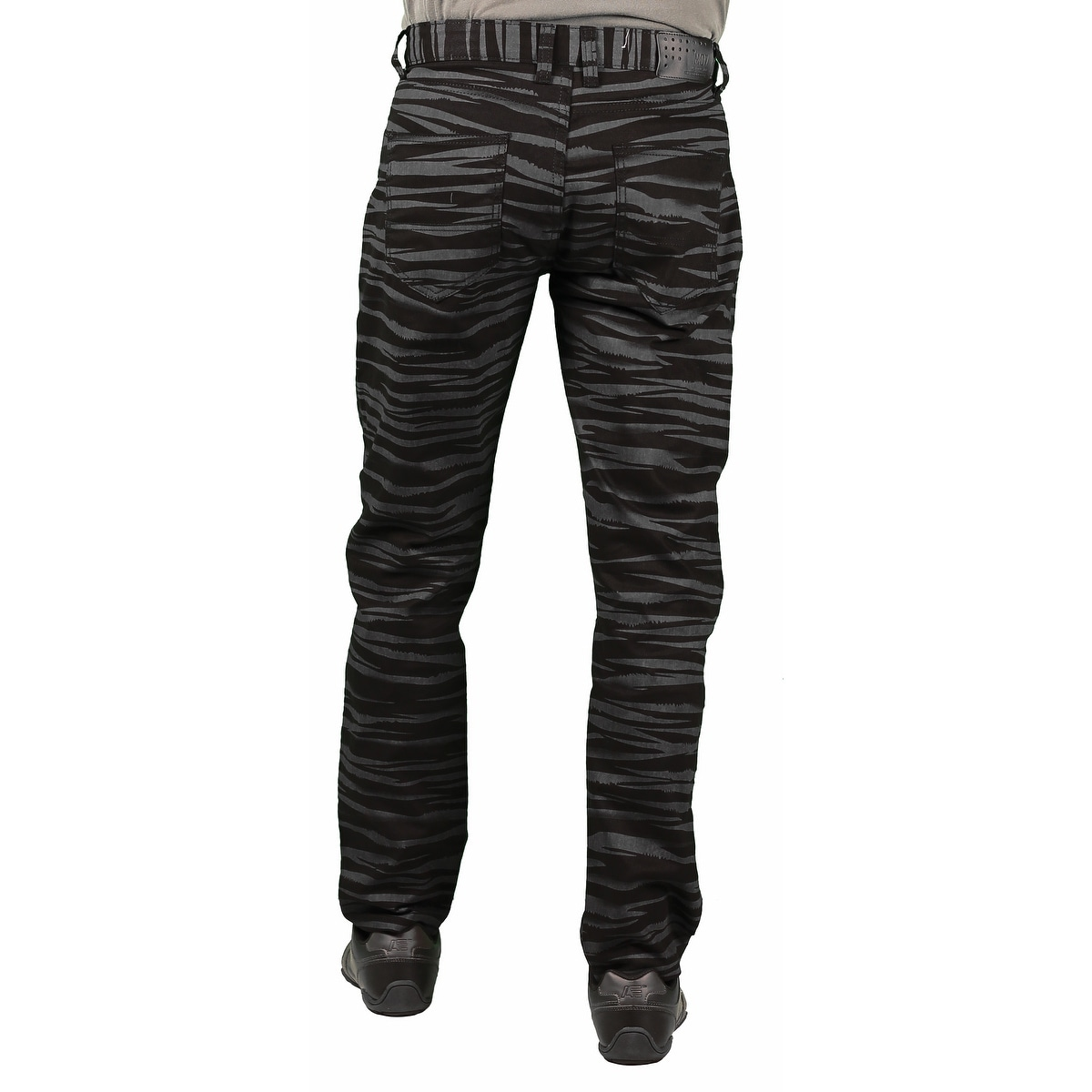 Shop MO7 Men s Tiger Stripe Print Fashion Pants - Free Shipping On Orders  Over  45 - Overstock - 14703933 f13eb9a4366