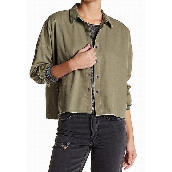 6b81f89b555 Good Luck Gem Women s Large Utility Button Down Shirt - Free Shipping On  Orders Over  45 - Overstock - 27547641