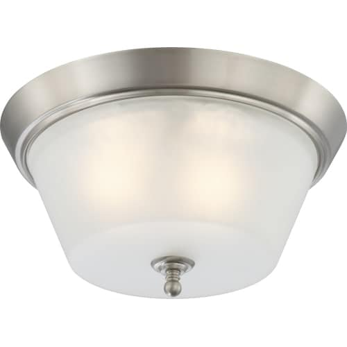 "Nuvo Lighting 60/4153 Surrey 3 Light 15-1/2"" Wide Flush Mount Ceiling Fixture"