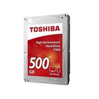 Toshiba HDWD105XZSTA Toshiba P300 500 GB 3.5 Internal Hard Drive - SATA - 7200