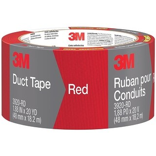 Scotch 3920-RD Duct Tape, Red