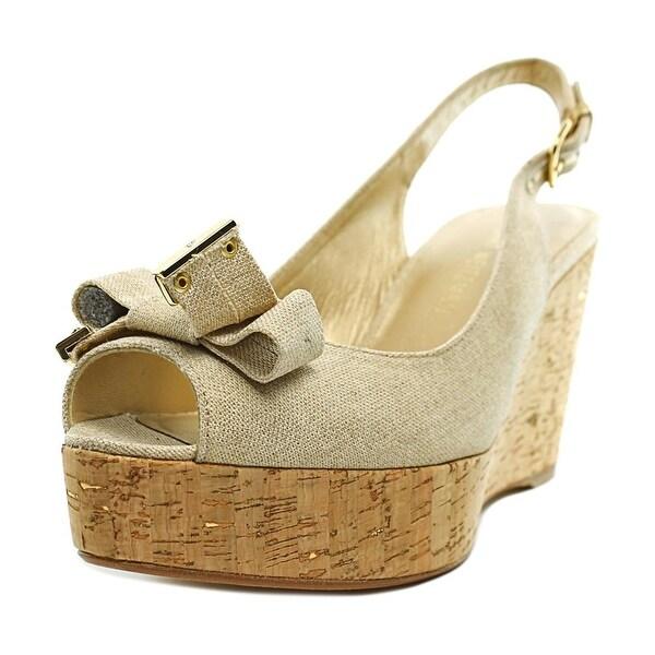 Stuart Weitzman Womens Bodajean Peep Toe Special Occasion Platform Sandals