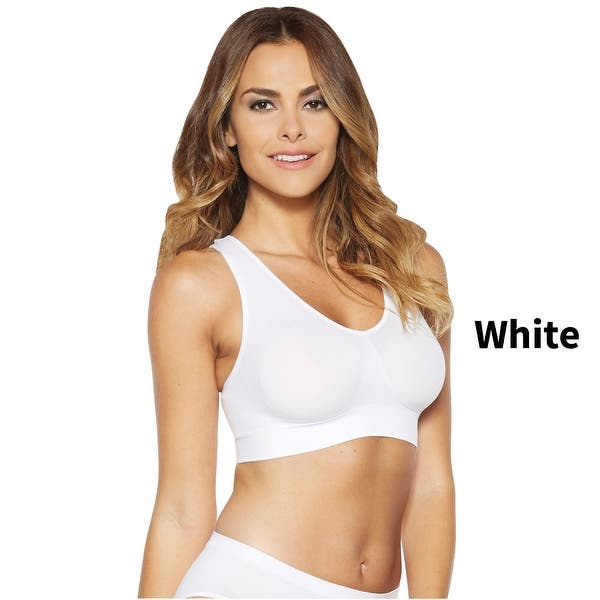 """Rhonda Shear AHH Bra  /""""Neutral/""""  Colors 3 Pack Double layer w// Lace Insert  1X"""