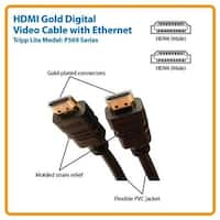 Tripp Lite Cable P569-025 25Feet High Speed With Ethernet Hdmi Male/Male