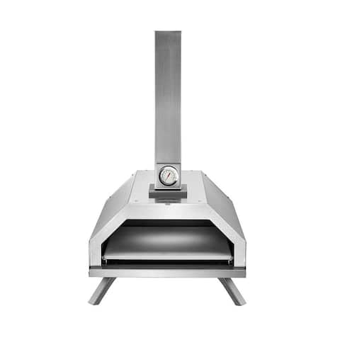 Pyre-Go Wood Fired Pizza Oven Outdoor Pellet Fuel Portable