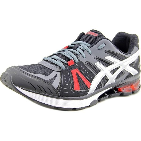 Asics Gel-Defiant 2 Men Round Toe Synthetic Black Running Shoe