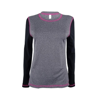 Ideology Women's Long-Sleeve Stretch Top