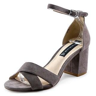 Steven Steve Madden Voomme Women Open Toe Suede Sandals