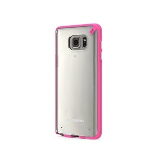 PureGear Slim Shell Case for Samsung Galaxy Note5 - Clear/Pink