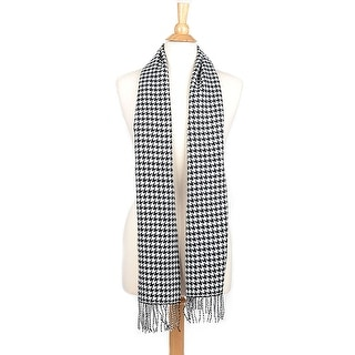 Link to Cashmere Feel Winter Scarf with Fringe Similar Items in Scarves & Wraps