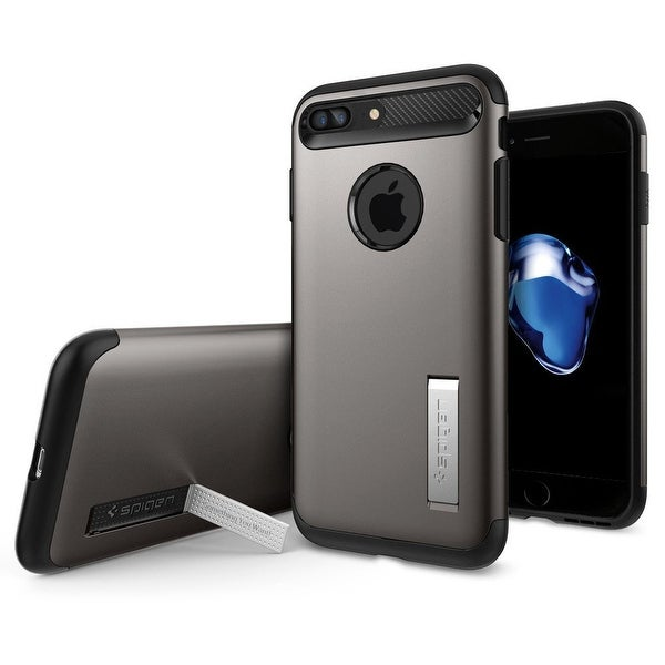 Spigen Slim Armor Case for iPhone 7 Plus Gunmetal