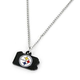Pittsburgh Steelers Necklace State Design