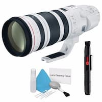 Canon EF 200-400mm f/4L IS USM Lens (International Model) + Deluxe Cleaning Kit Bundle (AF6CAN200400LUSMB3)