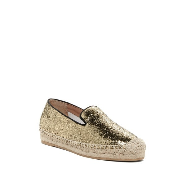 Marc by Marc Jacobs NEW Gold Women's Shoes Size 10.5M Espadrille