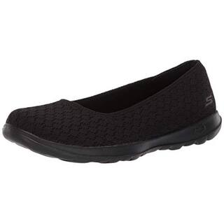 256f21a3ddc28a Buy Black Skechers Women's Flats Online at Overstock | Our Best Women's  Shoes Deals