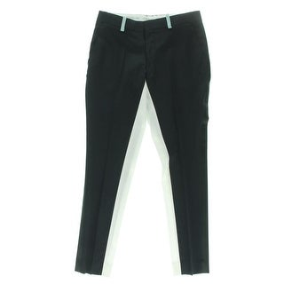 Each x Other Womens Tuxedo Pant Wool Contrast Trim