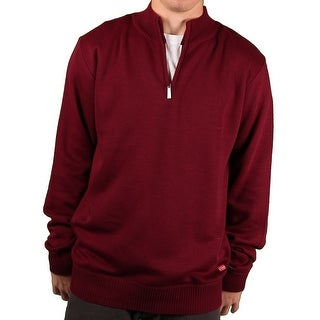 Ecko Unltd. Men's Solid 1/4-Zip Sweater