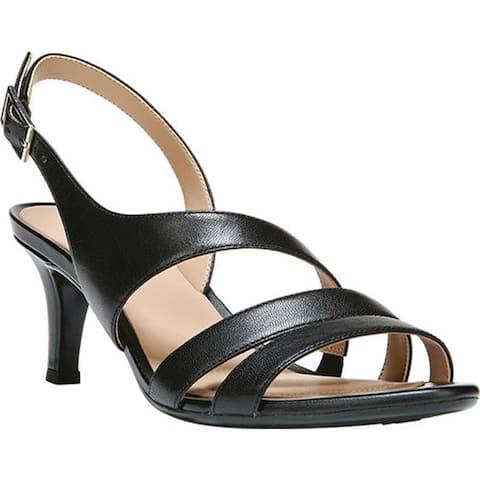 Naturalizer Women's Taimi Sandal Black Leather