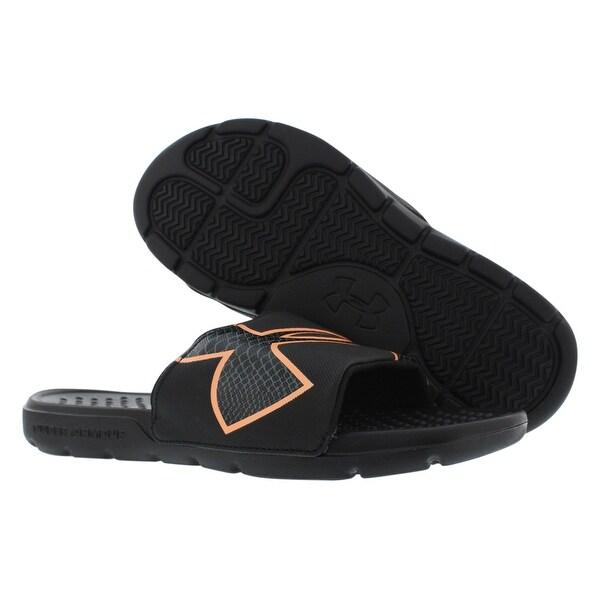 ac44606cf9 Shop Under Armour Strike Rock Sl Sandals Women's Shoes Size - 9 b(m ...