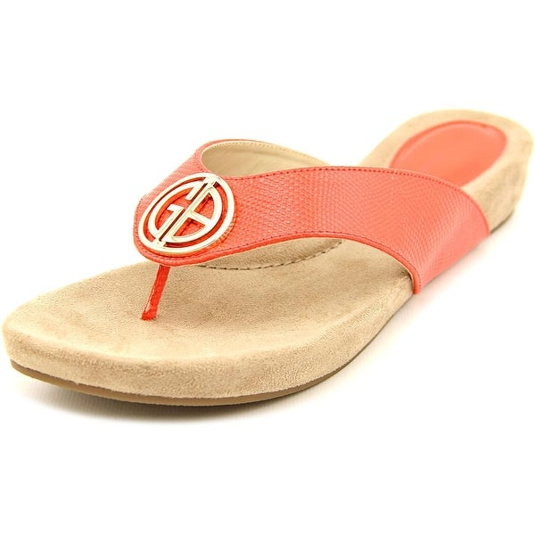Giani Bernini Racchel Women New Coral Sandals