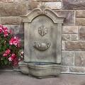 Sunnydaze Marina Outdoor Wall Fountain - Thumbnail 4