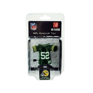 Green Bay Packers Clay Matthews Jersey Wind-Up Toy