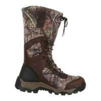 Rocky Men's Sport Pro 1200G Insulated WP Outdoor Boot RKS0366 Mossy Oak Break Up Country Full Grain/Synthetic