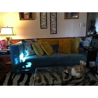 """BOON Rabbit Faux Fur Throw & 2 Pillow Combo Set, 50"""" x 60"""" & 60"""" x 80"""""""