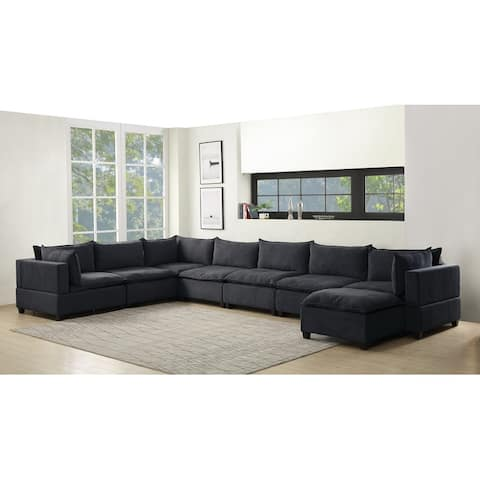 Madison Modular Sectional Sofa Chaise with Down Feather