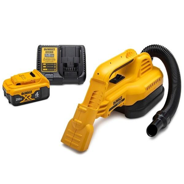 DeWalt 20V MAX 1/2 Gallon Wet/Dry Portable Vacuum Kit