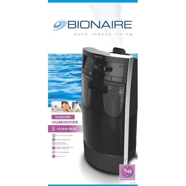 BUL7933CT Bionaire Ultrasonic Filter-Free Tower Humidifier
