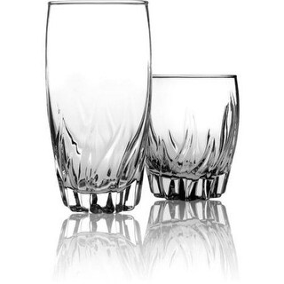 Anchor Hocking 84807L13 16 Count Central Park Glass Set Glass St 16pc