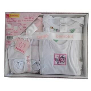 Bambini 5 Piece Gift Box (Pink, Newborn)