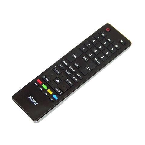 NEW OEM Haier Remote Control Originally Shipped With 24D3000A, 40D3505B 65E3550A