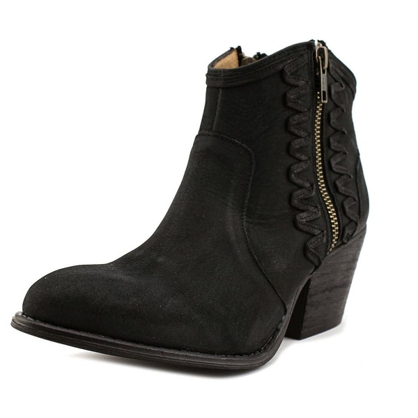 Coolway Athya Women Round Toe Leather Bootie