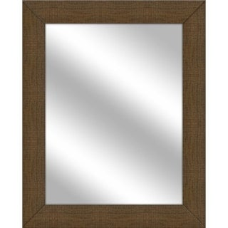 PTM Images 5-15103 31 1/2 Inch x 25 1/2 Inch Rectangular Unbeveled Framed Wall Mirror