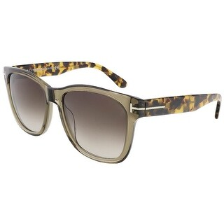 Tom Ford FT0395/S 34K Cooper Clear Olive Wayfarer