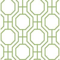 Brewster 2625-21846 Circuit Green Modern Ironwork Wallpaper - green ironwork - N/A