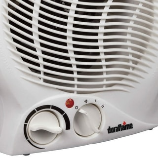Duraflame DFH-NH-3-T 2 Heat Settings Desktop Heater, White