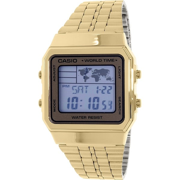 Casio Men's Gold Stainless-Steel Quartz Dress Watch