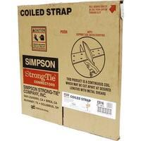 Simpson Strong-Tie 150' 16Ga Coiled Strap CS16 Unit: EACH