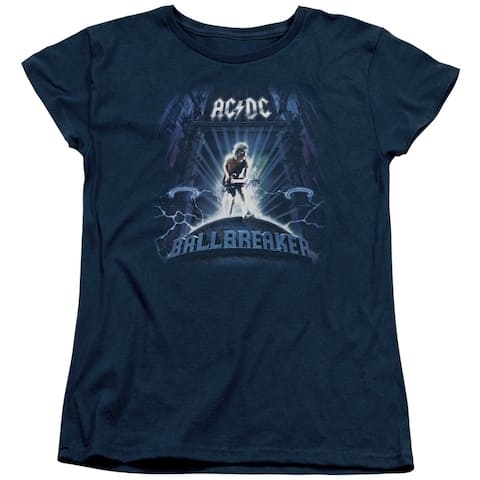 ACDC Ballbreaker Womens Short Sleeve Shirt