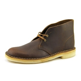 Clarks Originals Desert Boot Men W Round Toe Leather Brown Desert Boot