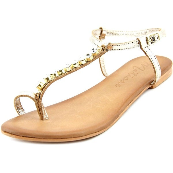 Coconuts By Matisse Kent Women Open-Toe Leather Slingback Sandal