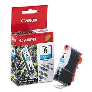 Canon 429476M Canon BCI6C (BCI-6) Ink Tank, 370 Page-Yield, Cyan