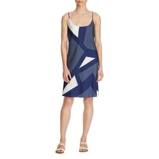 Equipment Womens Bias Prue Dress Casual Dress Silk Printed