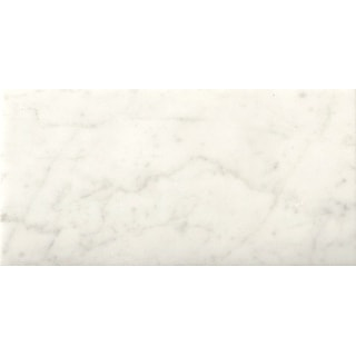 "Emser Tile M05BIAN0408H  Marble - 4"" X 8"" Rectangle Floor and Wall Tile - Honed Marble Visual - Bianco Gioia"