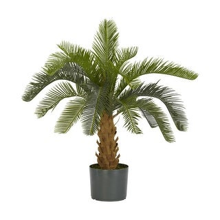 Nearly Natural Cycas Silk Plant Green