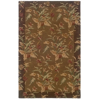 Link to Hand-tufted Botanical Wool Area Rug Similar Items in Rugs