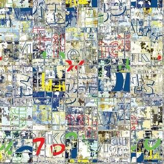 "Ella & Viv Graffiti Single-Sided Cardstock 12""X12""-Word"